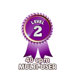 Multi-User 40cpm - Level 2
