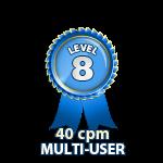 Multi-User 40cpm - Level 8