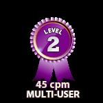 Multi-User 45cpm - Level 2
