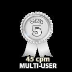 Multi-User 45cpm - Level 5