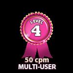 Multi-User 50cpm - Level 4