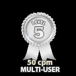 Multi-User 50cpm - Level 5