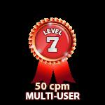 Multi-User 50cpm - Level 7