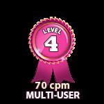 Multi-User 70cpm - Level 4