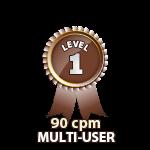 Multi-User 90cpm - Level 1