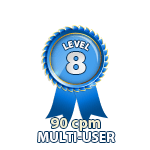 Multi-User 90cpm - Level 8