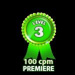 Premiere 100cpm - Level 3