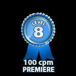 Premiere 100cpm - Level 8