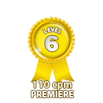 Premiere 110cpm - Level 6