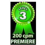 Premiere 200cpm - Level 3