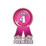 Premiere 500cpm - Level 4