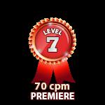 Premiere 70cpm - Level 7