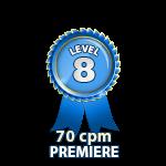 Premiere 70cpm - Level 8
