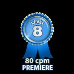 Premiere 80cpm - Level 8