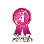 Standard 40cpm - Level 4