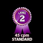 Standard 45cpm - Level 2