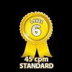 Standard 45cpm - Level 6