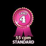 Standard 55cpm - Level 4