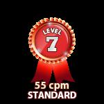 Standard 55cpm - Level 7