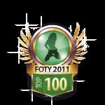 FOTY 2011 top 100 Girls