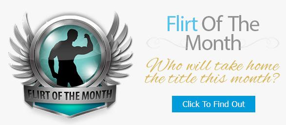 flirt of the month bio badge