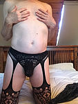 Lace Panties and Stockings