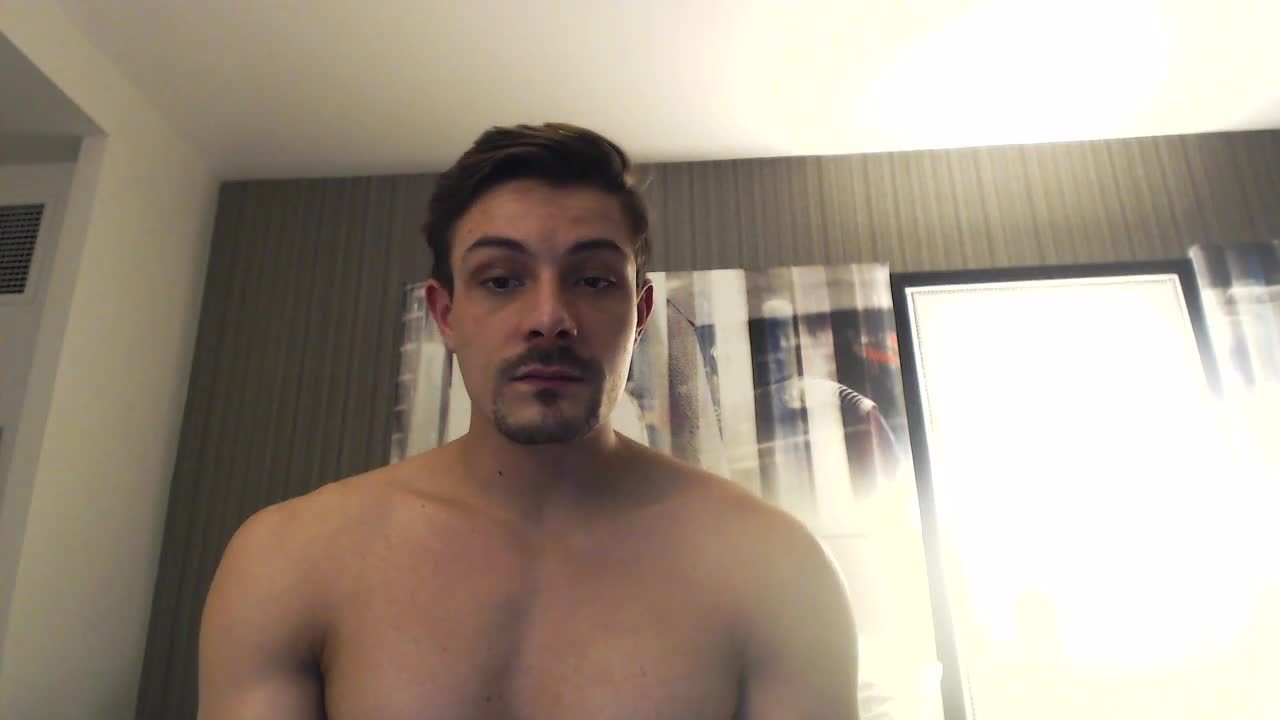 Party Chat: Carter Dane's Cumshot Hits the Camera