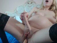 Spits and Masturbation for Nicole