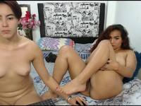 Paty Lovee & Michelle Love Private Webcam Show
