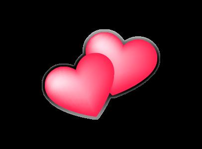 Hearts (Pink)