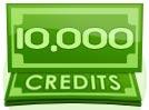 10,000 Credit Tip
