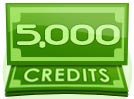 5,000 Credit Interactive Paid Show Tip