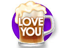 Beer Stein (Love You)