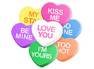 Candy Hearts (All 7 Cute)