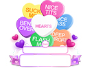 Custom Candy Hearts