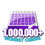 1,000,000 Credits in a Month