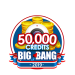 4th of July 50,000 Credits