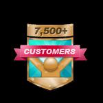7,500+ Customers