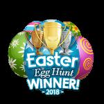 Easter 2018 Egg Hunt Winner