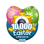 Easter 10,000 Credits