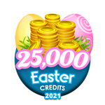 Easter 25,000 Credits