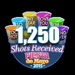 1250 Shots