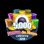 Fiesta 5,000 Credits