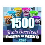 1,500 Shots