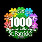 1,000 Shamrocks