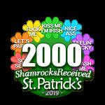 2,000 Shamrocks