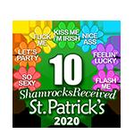 10 Shamrocks