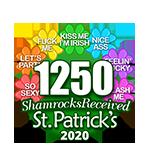 1,250 Shamrocks