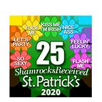 25 Shamrocks
