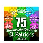 75 Shamrocks